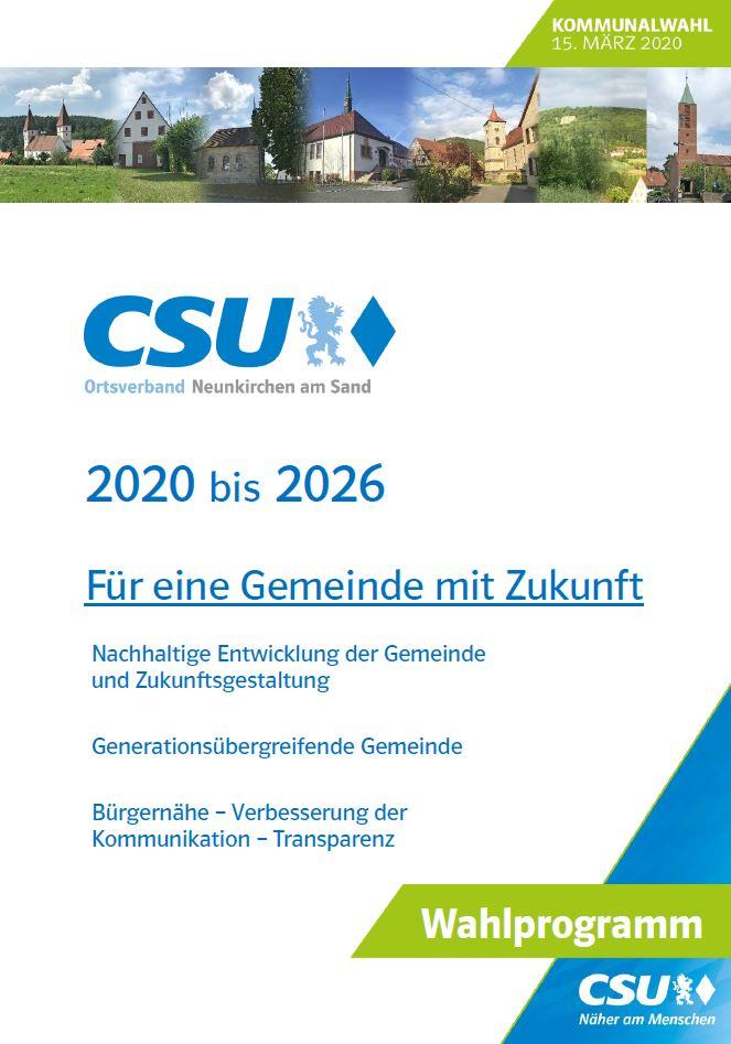 Cover Wahlprogramm Auf Jens Fankhaenel bauen