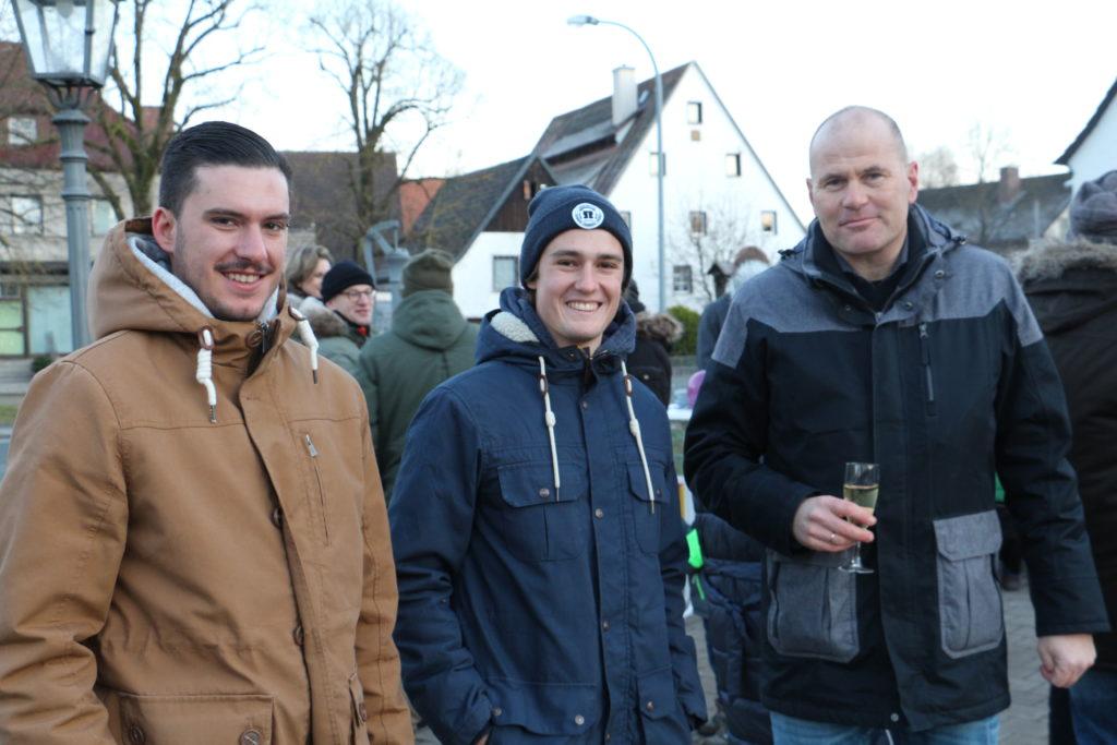 Neues Jahr 202 Prosit mit Jens Fankhaenel und Jugend