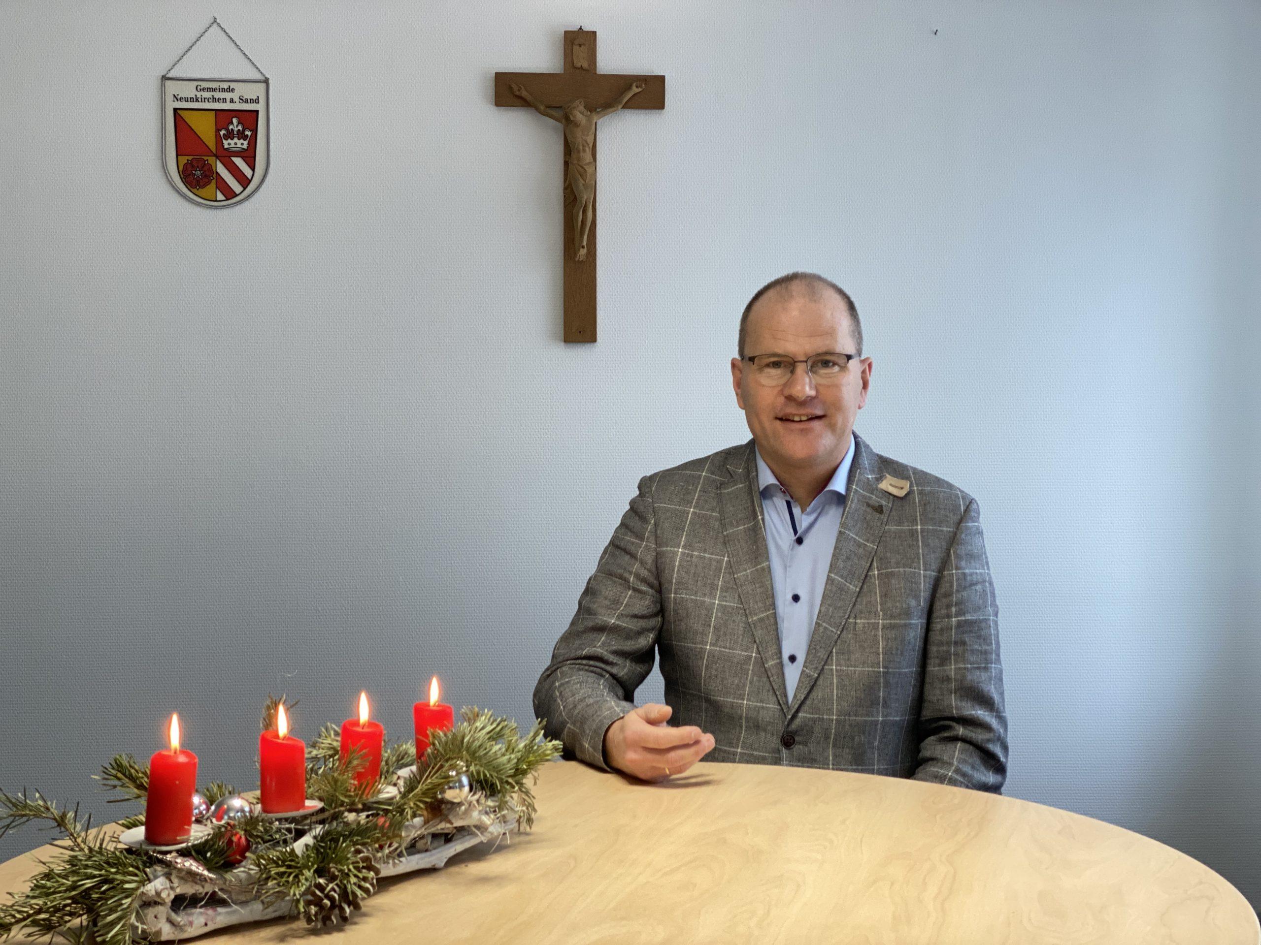 Bürgermeister hält Weihnachtsansprache